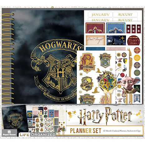 Paper House 12-Month Planner Set - Harry Potter