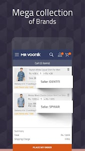 Mr Voonik -Online Shopping Men screenshot 5