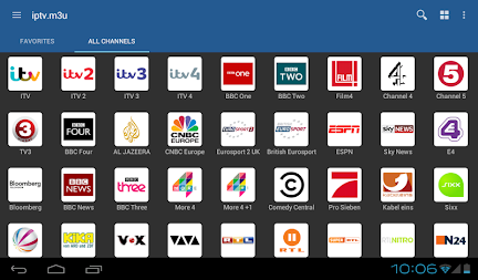 IPTV APK screenshot thumbnail 1