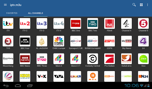 IPTV Screenshot