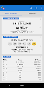 Mega Millions Powerball Lottery In Us Apps On Google Play