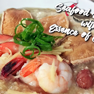 Seafood Porridge with Essence of Chicken Recipe