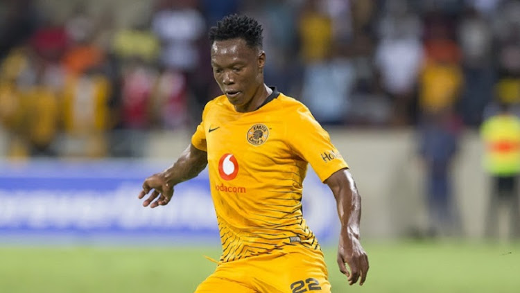 Philani Zulu of Kaizer Chiefs during their match against SuperSport United on Friday.