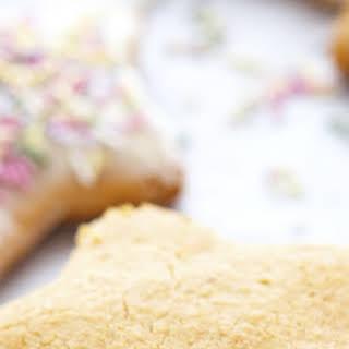 Almond Flour Coconut Sugar Cookies.