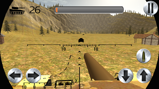 Tank Shooting Exercise 3D