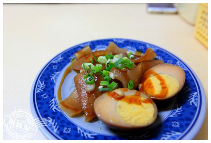 夯園牛肉麵館菜單滷料