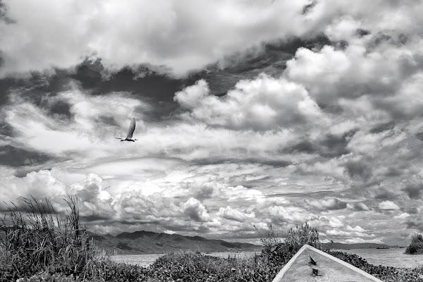 Sul lago Inle di giuliobrega