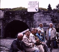 Photo: Verviers v.l.n.r. Albert Martens, Fenny Martens, Jantje Martens, Dowina Dekker, Harmpje Niemeijer, Frèkje Hofsteenge en Lammie Warrink