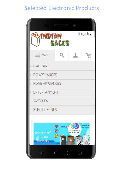 Indiansales- screenshot