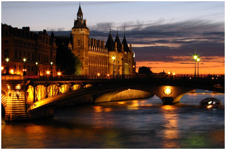 Bridge in Paris di photographart