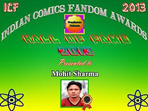 Photo: Indian Comics Fandom - Hall of Fame 2013