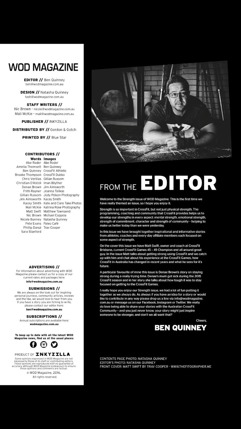 Скриншот WOD Magazine