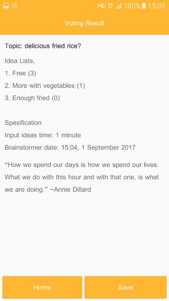 Brainstormer - Ideas Generator by Brainstorming screenshot 2