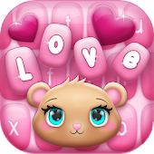Pink Love Keyboard Changer