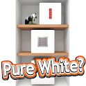 Escape game [Pure White?] Room with a strong habit icon