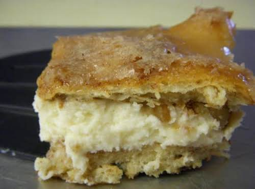 """Cinnamon Roll Cheesecake """"I made this for my family and it was..."""