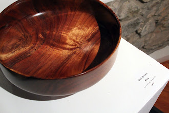 Photo: Figured Koa bowl turned in 1996.