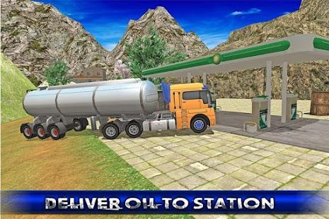 Off Road Oil Truck Driving screenshot
