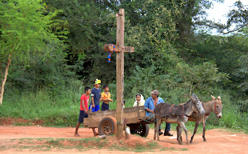 Photo: We travelled from mission town to mission town in the steamy lowland forests of Bolivia, listening to music inspired by the church