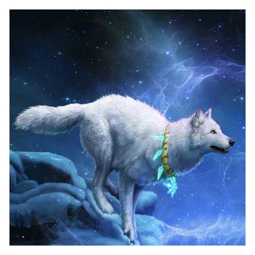 白狼生活壁紙 生活 App LOGO-硬是要APP