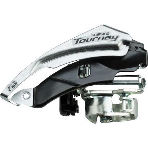 Shimano Tourney FD-TY510 6/7-Speed Triple Top-Swing Dual-Pull Front Derailleur