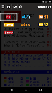 TELETEXT (mobile Website) screenshot 3