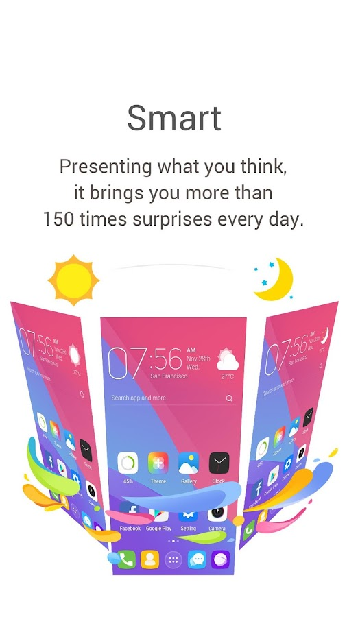 GO Launcher-Theme, Wallpaper- screenshot