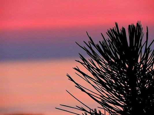 Strano tramonto di Lory67