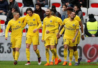 Le PSG s'impose de justesse face à Nice, Meunier joue un quart d'heure