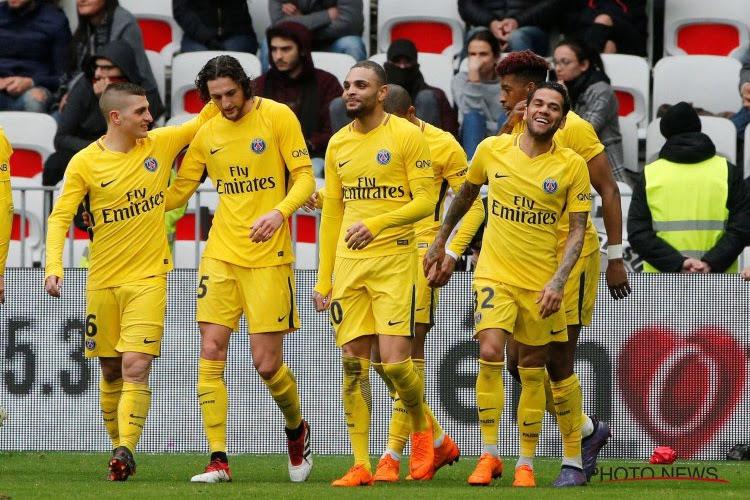 Ligue 1 : le PSG, avec Thomas Meunier, surpris par Rennes