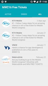 MWC16 Free Tickets screenshot 1