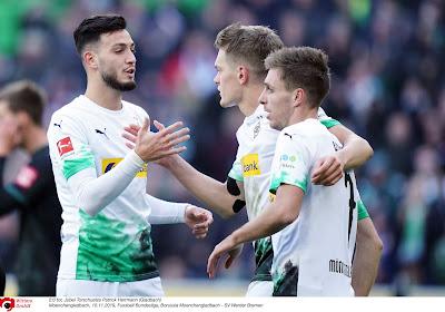Gladbach behaalt makkelijke overwinning op het veld van Frankfurt