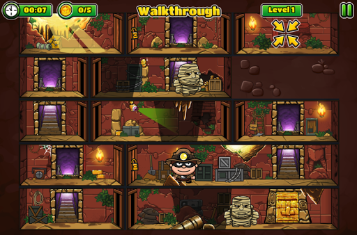 Bob The Robber 5: Temple Adventure by Kizi games 1.0.0 APK MOD screenshots 2