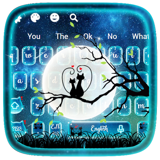 Moon Night Love Keyboard Android APK Download Free By Jessie Keyboard Theme