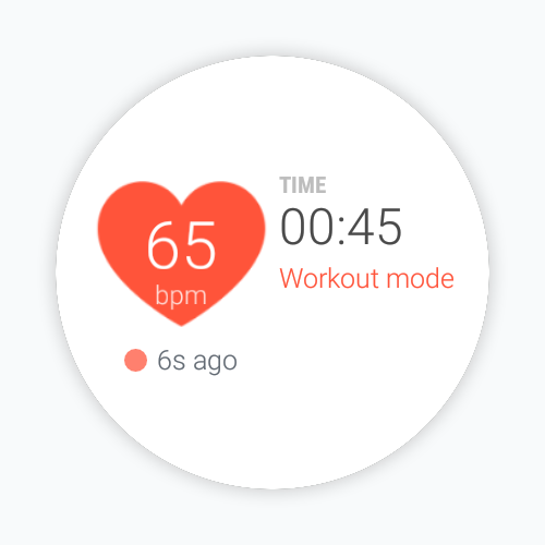 Cardiogram for Android Wear- screenshot