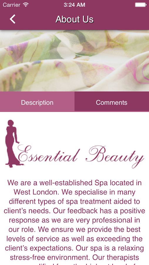 Essential Beauty Spa- screenshot