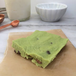 Low Carb Mint Chip Protein Bars.