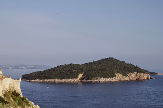 Photo: Fort Lovrijenac, Island of Lokrum