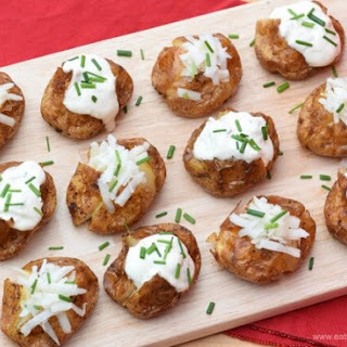 Mini Baked Potatoes With Cheese Recipes