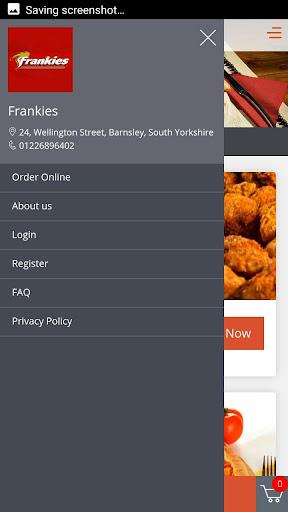 Frankies Chicken screenshot 1