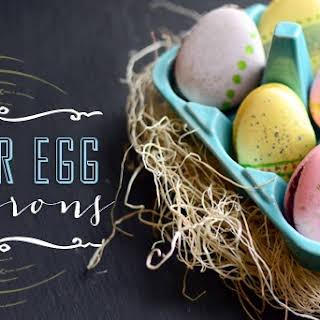 Easter Egg Macarons.