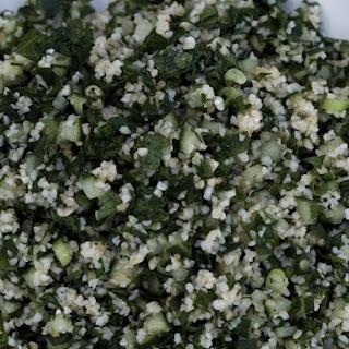 Minty Tabbouleh Salad