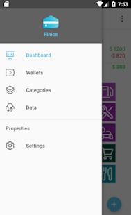 Finice – Money Tracker - náhled