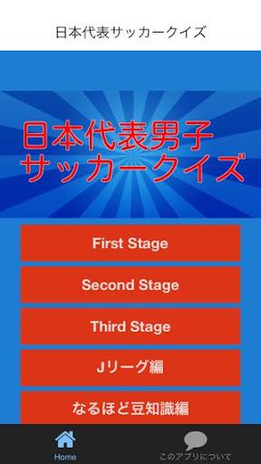 日本代表男子サッカークイズ