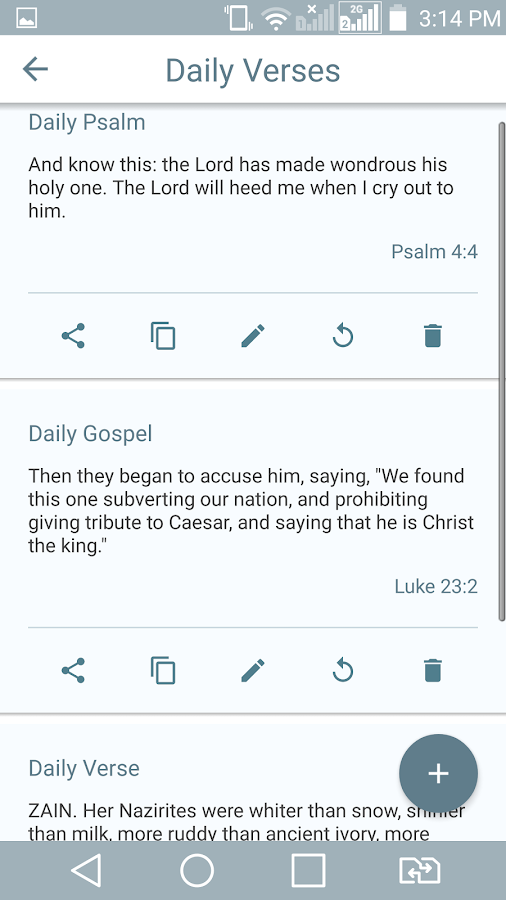 Catholic Bible w Audio- screenshot