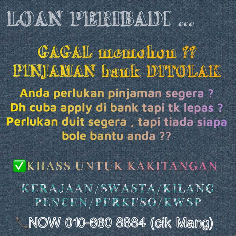 PINJAMAN MANG - Loan Agency in Bandar seri alam