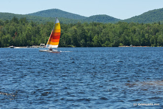 Photo: Sail boating seen from Boulder Beach State Park