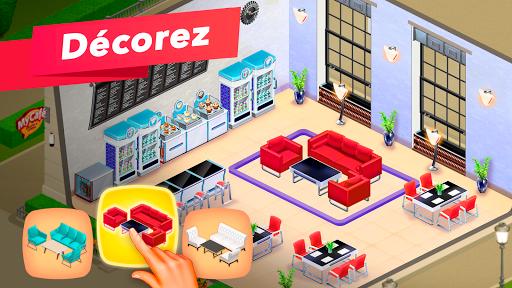 My Café — jeu de restaurant fond d'écran 2