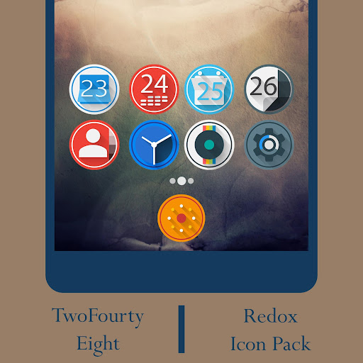Redox - Icon Pack app for Android screenshot