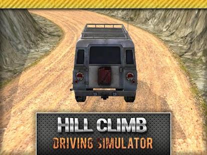 4x4 Jeep Hill Climb Simulator screenshot